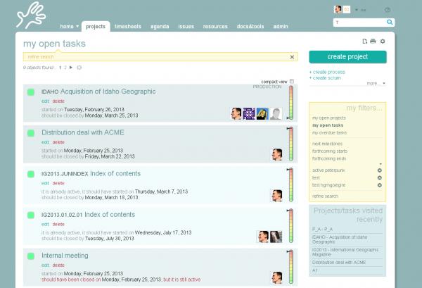 TWproject screenshot 1